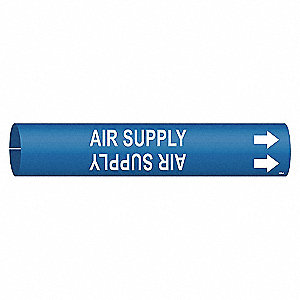 PIPE MARKER - AIR SUPPLY