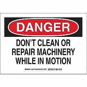 SIGN DONFTT CLEAN OR REPAIR....