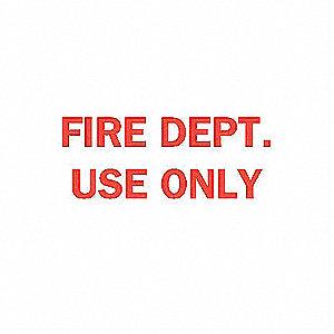 SIGN FIRE N/H 10X14