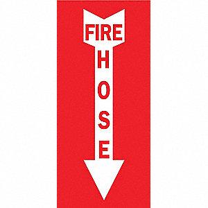 SIGN FIRE N/H 10X7