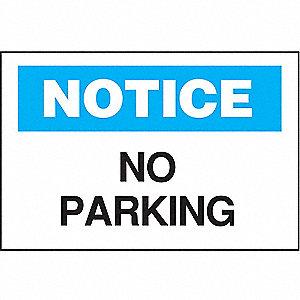 SIGN NO PARKING