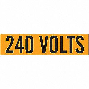 LABELS 240 VOLTS