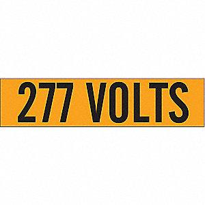 LABELS 277 VOLTS
