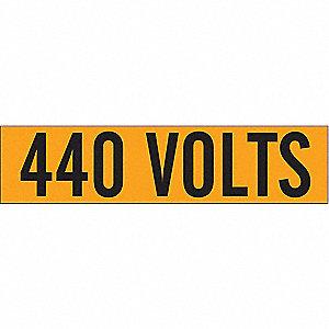 LABELS 440 VOLTS