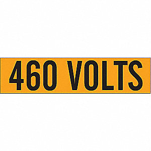LABELS 460 VOLTS