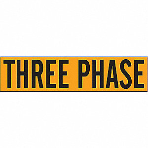 LABELS THREE PHASE
