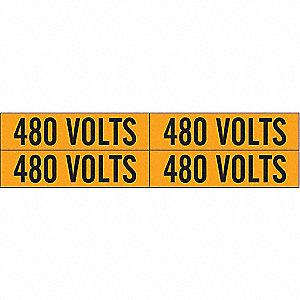 LABELS 480 VOLTS