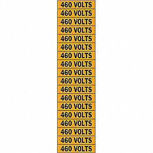 LABELS 460 VOLTS