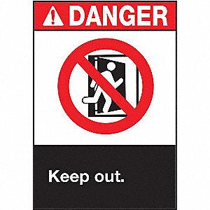 SIGN DANGER 10X7
