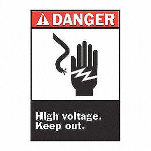 SIGN DANGER 14X10