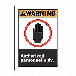 SIGN WARNING 10X7