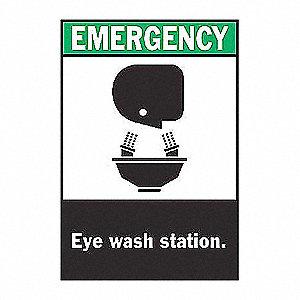 SIGN EMERGENCY 10X7
