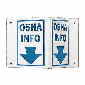 SIGN HI-VIS OSHA INFO