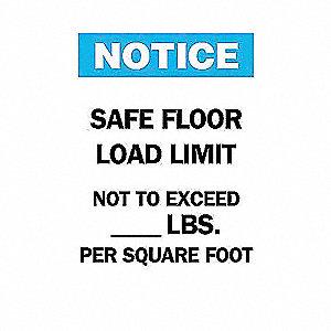 SIGN SAFE FLOOR ETC