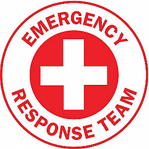 LABELS EMERGENCY RESPONSE TEAM