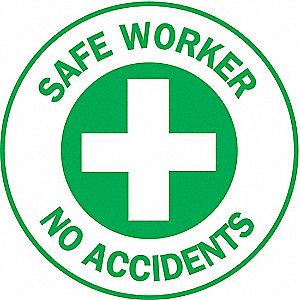 LABELS SAFE WORKER NO ACCIDENTS