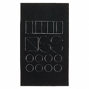 NUMBER/LETTER 5010-PUN 5/PK