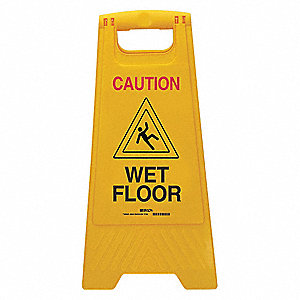 Warning System Floor Stand, Plastic