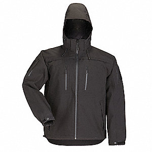"SABRE 2.0 Jacket, XS Fits Chest Size 30"" to 32"", Black Color"