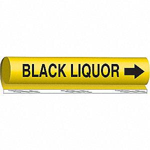 PIPEMARKER BLACK LIQUOR