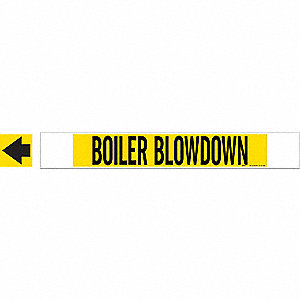 PIPEMARKER 59638 BOILER BLOWDOWN