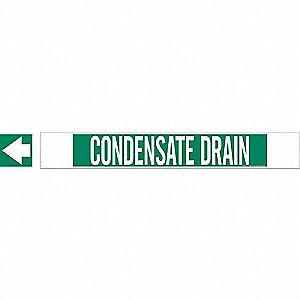 PIPEMARKER 59664 CONDENSATE DRAIN
