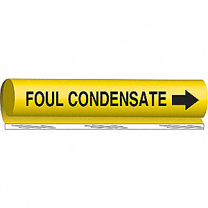 PIPEMARKER FOUL CONDENSATE