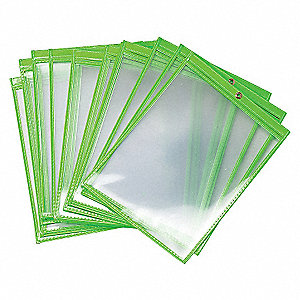 ENVELOPES SHOP 9 X 12 GREEN 25/PK