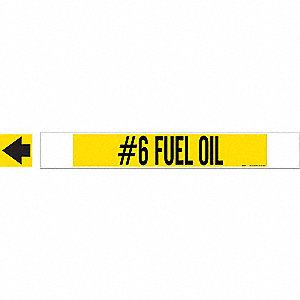 PIPEMARKER 59910 #6 FUEL OIL