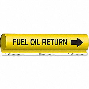 PIPEMARKER FUEL OIL RETURN