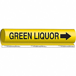 PIPEMARKER GREEN LIQUOR