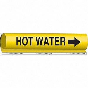 PIPEMARKER HOT WATER