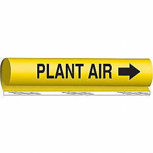 PIPEMARKER PLANT AIR