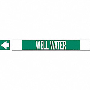 PIPEMARKER 59778 WELL WATER