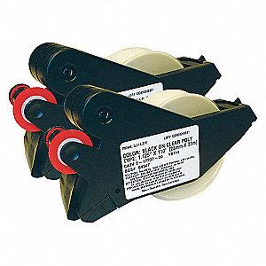 LABELIZER PLUSB569 BLACK/CLEAR 1.12