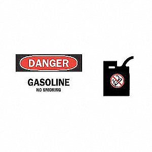 SIGN DANGER W/GRAPHIC 7X17O
