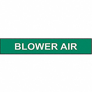 PIPEMARKER BLOWER AIR
