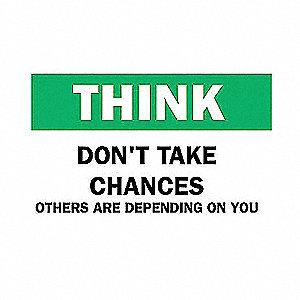 SIGN THINK 10X14