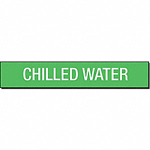 PIPEMARKER 93421 CHILLED WATER