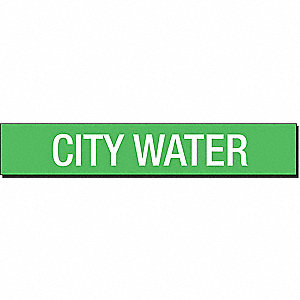 PIPEMARKER 93422 CITY WATER