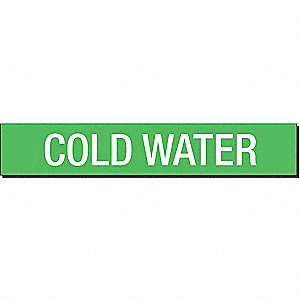 PIPEMARKER 93423 COLD WATER
