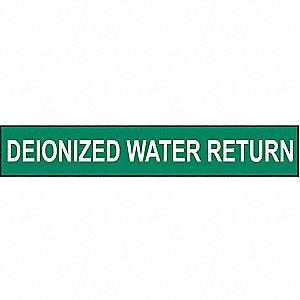 PIPEMARKER 90213 DEIONIZED WATER RE