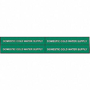 PIPEMARKER 90223 DOM. COLD WATER SU