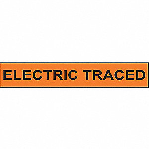 PIPEMARKER ELECTRIC TRACED