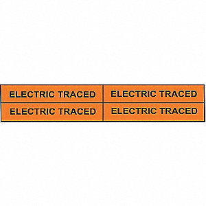 PIPEMARKER 91988 ELECTRIC TRACED