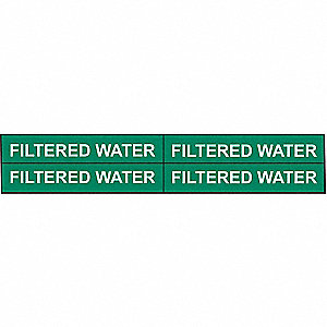 PIPEMARKER 92075 FILTERED WATER