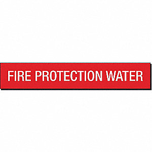PIPEMARKER 93403 FIRE PROTECTION WA