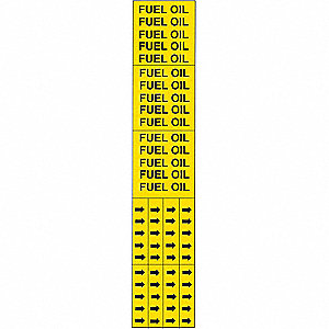 PIPEMARKER 93350 FUEL OIL