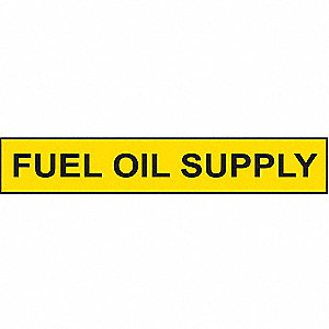 PIPEMARKER 77543 FUEL OIL SUPPLY