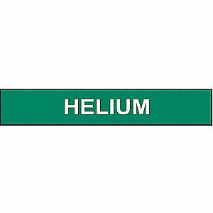 PIPEMARKER 36254 HELIUM STY 1 GRN/W